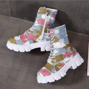 Stylish Army Shoes - 1012
