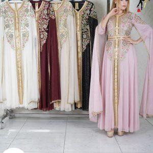 Luxurious Sparkle Caftan Dress.
